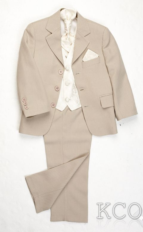Lawrence Beige/Cream~ Boys Suits